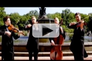STAGE TUBE: WELL-STRUNG Singing String Quartet Mixes Pop with Classical
