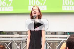 BWW TV: Broadway's New ANNIEs Invade Bryant Park- Taylor Richardson, Sadie Sink & More!