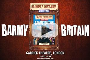 STAGE TUBE: First Look - Horrible Histories' BARMY BRITAIN at The Garrick Theatre