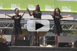 BWW TV: The Infectious Music of MOTOWN Takes Over Bryant Park!