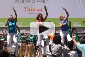 BWW TV: MAMMA MIA!'s Dancing Queens Perform at Bryant Park!
