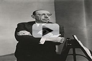 STAGE TUBE: Bard Music Festival Presents FILMING STRAVINSKY: PRESERVING POSTERITY'S IMAGE, Tonight!