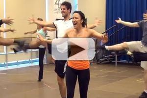 BWW TV: In the Rehearsal Room with Caroline Bowman, Josh Young & EVITA Tour Cast; Plus Performance Highlights!