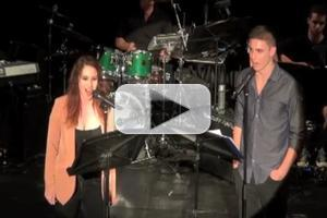 BWW TV Exclusive: CUTTING EDGE COMPOSERS CORNER-  Derek Klena and Emma Hunton Sing 'It's Been a While'