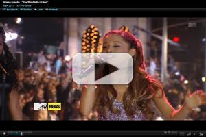 VIDEO: Broadway Baby Ariana Grande Performs at VMA Preshow