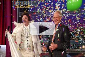 VIDEO: Bill Murray Celebrates LETTERMAN's 20th Anniversary as Liberace