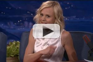 VIDEO: Alison Pill Shares Trick to Beat Stage Fright on CONAN