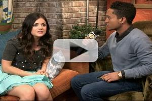 VIDEO: Lucy Hale Talks Upcoming Guest Appearance on BABY DADDY