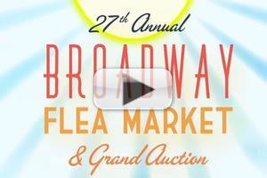 STAGE TUBE: Promo Released for 2013 BROADWAY FLEA MARKET & GRAND AUCTION; Pre-Bidding Now Open!