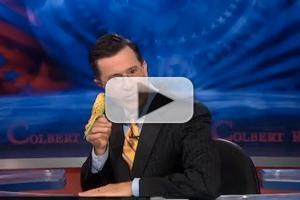 VIDEO: Stephen Introduces the Battery-Powered Parakeet & More on COLBERT