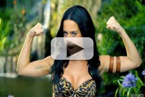 VIDEO: Katy Perry Lets Out a 'ROAR' in New Music Video