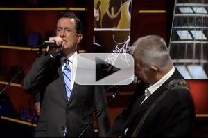 VIDEO: Stephen Duets with John Prine on THE COLBERT REPORT