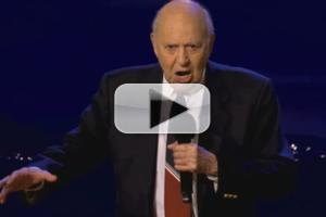VIDEO: Comedy Legend Carl Reiner Performs PAGLIACCI on CONAN