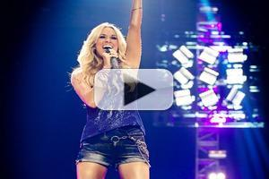 VIDEO: Carrie Underwood Sings  SUNDAY NIGHT FOOTBALL Theme
