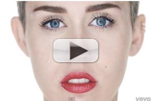 VIDEO: Miley Cyrus Debuts Revealing Video for New Single 'Wrecking Ball'