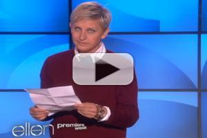 VIDEO: Ellen DeGeneres Shares the Potential Pros & Cons of Hosting THE OSCARS