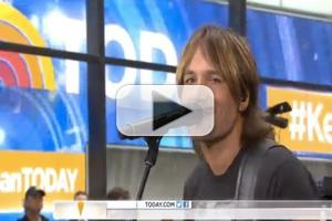 VIDEO: Keith Urban Performs 'Little Bit of Everything' on TODAY