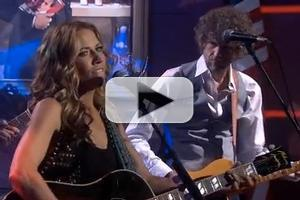 VIDEO: Sheryl Crow Performs 'If It Makes You Happy' on COLBERT