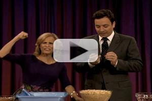 VIDEO: Amy Sedaris Makes Edible Kitty Litter on FALLON