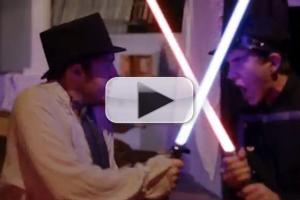 STAGE TUBE: Watch LES MISERABLES Lightsaber Showdown