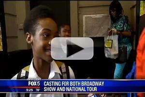 STAGE TUBE: More from Inside MOTOWN THE MUSICAL's Open Auditions