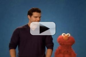 VIDEO: 'Man of Steel's Henry Cavill Visits SESAME STREET