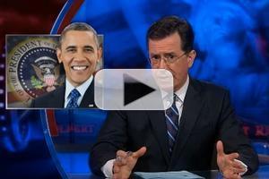 VIDEO: Stephen Talks Syrian Crisis on COLBERT