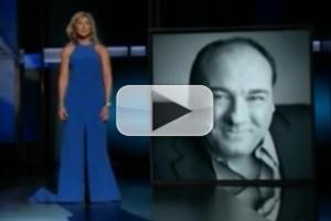 STAGE TUBE: Edie Falco Remembers James Gandolfini