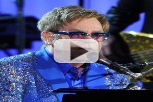 VIDEO: Elton John Pays Tribute to Liberace on 65th EMMY AWARDS