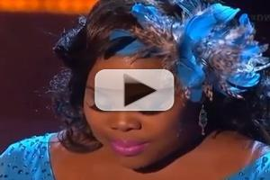 VIDEO: GLEE's Amber Riley Overcomes Fears on DWTS