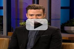 VIDEO: Justin Timberlake Fights a Cold to Visit THE TONIGHT SHOW