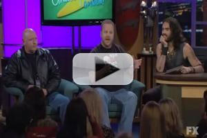 STAGE TUBE: Westboro Baptist Church Visits Russell Brand Show