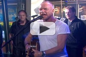 VIDEO: Sting Performs, Chats THE LAST SHIP on 'Today'