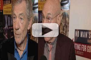 BWW TV: Cast of WAITING FOR GODOT and NO MAN'S LAND Meets the Press- Ian McKellen, Patrick Stewart & More!