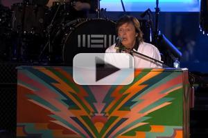 VIDEO: Paul McCartney Performs New Single 'New' on JIMMY KIMMEL