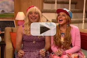 VIDEO: Lindsay Lohan & Jimmy Fallon in TeenNick Spoof 'Ew'