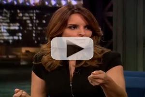 VIDEO: Tina Fey Chats Emmy 'Wardrobe Malfunction' on FALLON