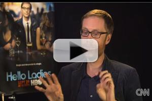 STAGE TUBE: Sneak Peek at Actor/Comedian Stephen Merchant on 'The Lead with Jake Tapper'