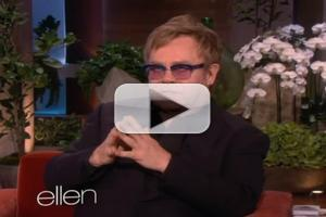 VIDEO: Elton John Talks Miley Cyrus, Lady Gaga on ELLEN