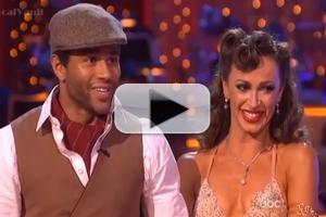 VIDEO: Corbin Bleu Breaks Quick Step Record on DANCING WITH THE STARS