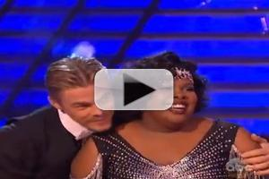 VIDEO: GLEE Cast Cheers on Amber Riley on DANCING WITH THE STARS