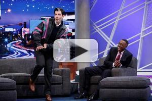 VIDEO: Max Greenfield Does 'Vanilla Ice' on ARSENIO HALL SHOW