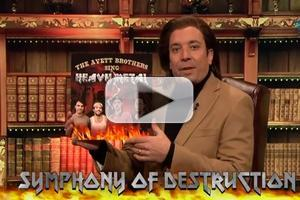 VIDEO: JIMMY FALLON Pitches 'The Avett Brothers Sing Heavy Metal'