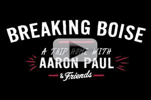 VIDEO: Aaron Paul Visits Boise with Friends to Screen BREAKING BAD Episode