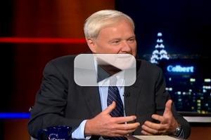 VIDEO: Chris Matthews Among Highlights of 10/2 COLBERT REPORT