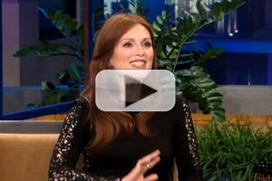 VIDEO: Julianne Moore Chats 'Carrie' on JAY LENO