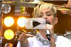 VIDEO: Miley Cyrus Performs 'Can't Stop', 'Wrecking Ball' on TODAY