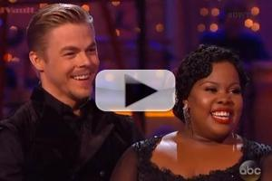VIDEO: Amber Riley Wows the Judges with the Tango on DANCING WITH THE STARS