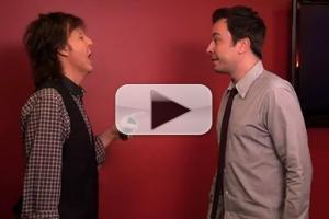 VIDEO: Jimmy Fallon & Paul McCartney Switch Accents on LATE NIGHT
