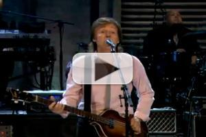 VIDEO: Paul McCartney Performs New Single 'Save Us' on FALLON